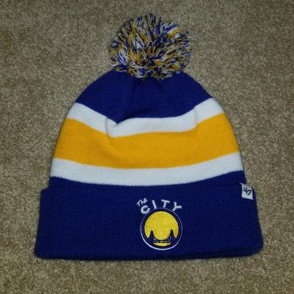 78d89368e3219c Forty Seven Accessories | Golden State Warriors Knit Beanie | Poshmark